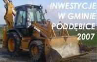 Inwestycje 2009